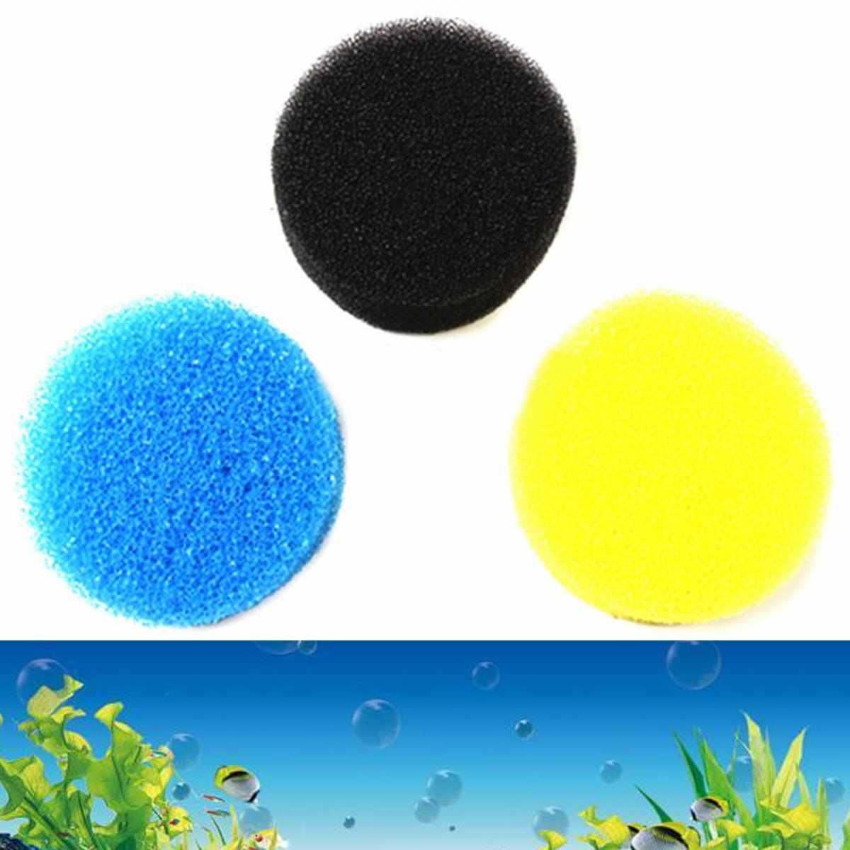 1 шт. хлопковый вспомогательный фильтр для аквариума Губка фильтр баррель Биохимический хлопок передний фильтр Заменяет ядро случайный цвет
