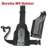 Hunting Equipment Right Hand Beretta M9 Gun Leg Holster Tactical Combat Airsoft Pistol Holster For Beretta M9 92 96