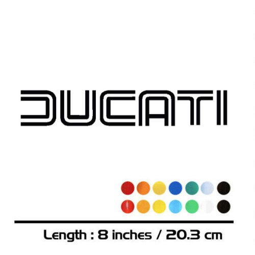 New Sale Motorcycle Sticker Bike Fuel Tank Wheels Helmet Fairing Luggage MOTO Car Accessories Reflective Sign Decal For Ducati