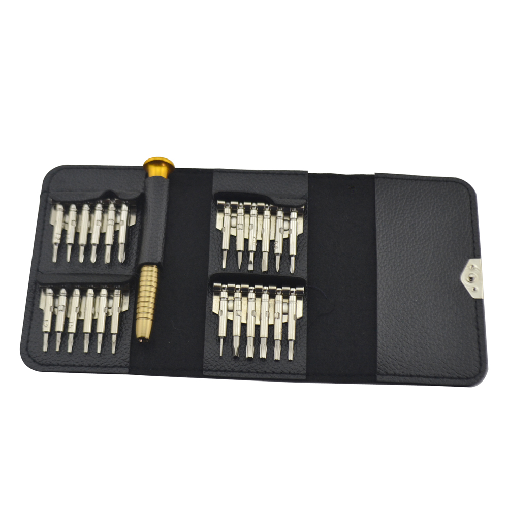 10sets Mini Precision 25 in 1 Tor x Screwdriver Opening Repair Tools Kit Screwdriver Set for game   controller console Camera
