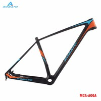 New OEM 29 17 Inch Mountain Bicycle UD Full Carbon Fibre Disc Brake Bike Frames Headsets