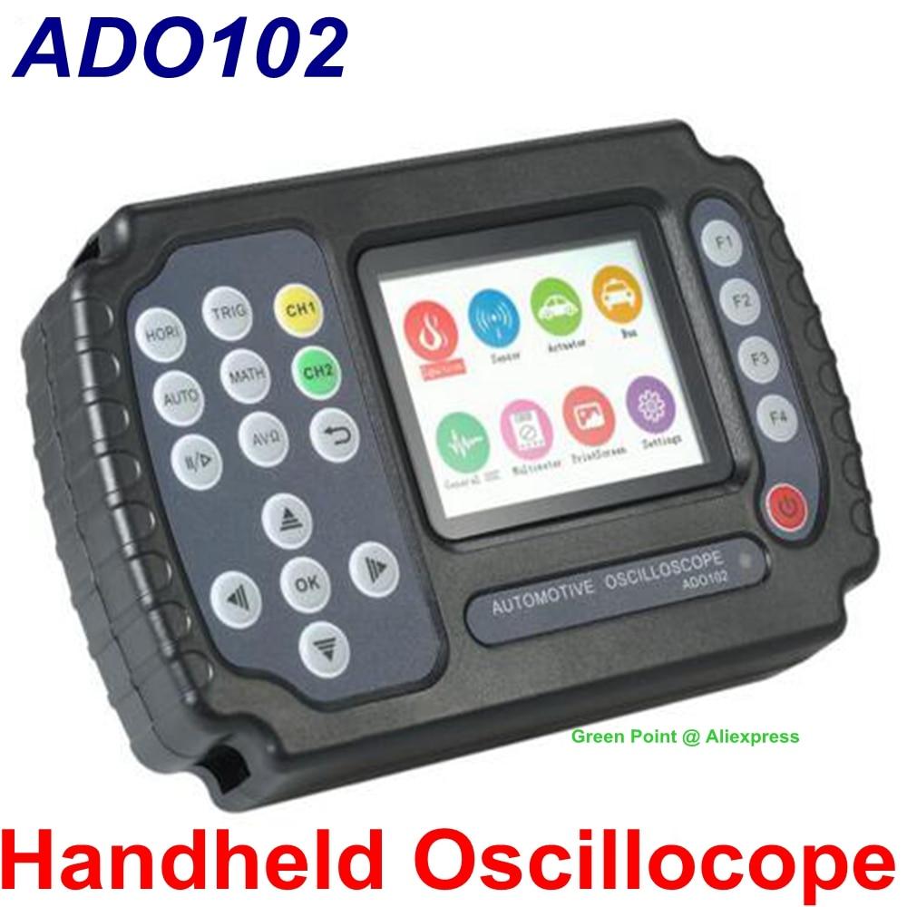 Jinhan ADO102 Handheld Oscilloscope 100 MSa s Digital Multimeter Oscilloscope 2 Chnnels Car Repair Automotive Oscilloscope