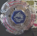 Lightning L-Drago/Spegasis LDrago 105RF 4D Beyblade With Left Right Spin Launcher  US Seller!