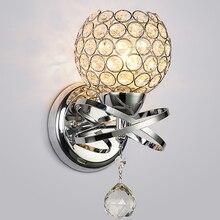 Абсолютно современный стиль, Домашний Светильник ing, настенный светильник для гостиной, роскошный хрустальный абажур, Подвесной Настенный светильник, держатель для розетки E14(без була
