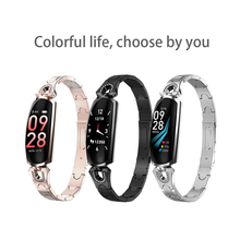 Timethinker AK16 Smart Watch Women Bracelet Lady  Fitness Tracker Blood Pressure Heart Rate Monitor for Xiaomi 9