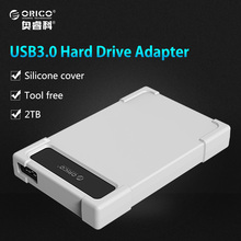 ORICO Hard Drive Adapter 2.5 inch USB 3.0 HDD SATA Adapter Tool Free HDD Enclosure Hard Drive Case (Not including HDD)