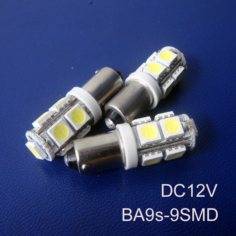 High quality 12v Car BA9s led Lamp Light Bulb,BA9s Led Signal Light,Indicator Light,Auto Led Pilot Lamp free shipping 5pcs/lot