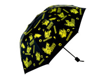 Anime funny japan Game Pocket Monster ,Pokemon ,Pikachu Daily Folding Umbrella Cute Cosplay Collection