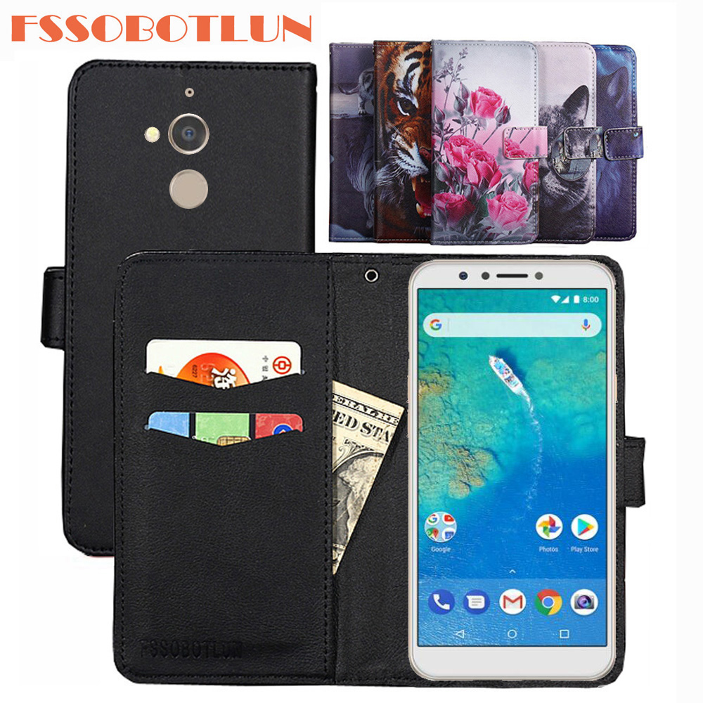 For General Mobile GM8 Case PU Leather Retro Flip Cover Magnetic Wallet Cases Kickstand Strap For Google General Mobile GM 8 GM8(China)