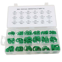 270 PCS Thermostability Rubber O Ring Assortment Kit O-Ring Seals Set Nitrile Rubber O-Ring Popular 18 Sizes With Case high quality rubber 270pcs 18 sizes o ring kit green metric o ring seals nitrile