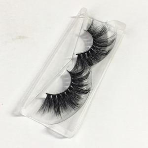 Image 5 - Pestañas postizas 3d de visón hechas a mano, 10 estilos, 20mm, pestañas postizas naturales, postizas, pestañas de imitación