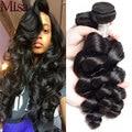 Peruvian Virgin Hair Loose Wave 3 Bundles 7A Unprocessed Virgin Peruvian Hair Loose Curly Weave Human Hair Peruvian Loose Wave