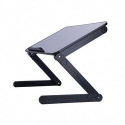 Nowe biurko na laptopa łóżko z małym stołem dormitorium College leniwy składany uchwyt łóżko małe biurko