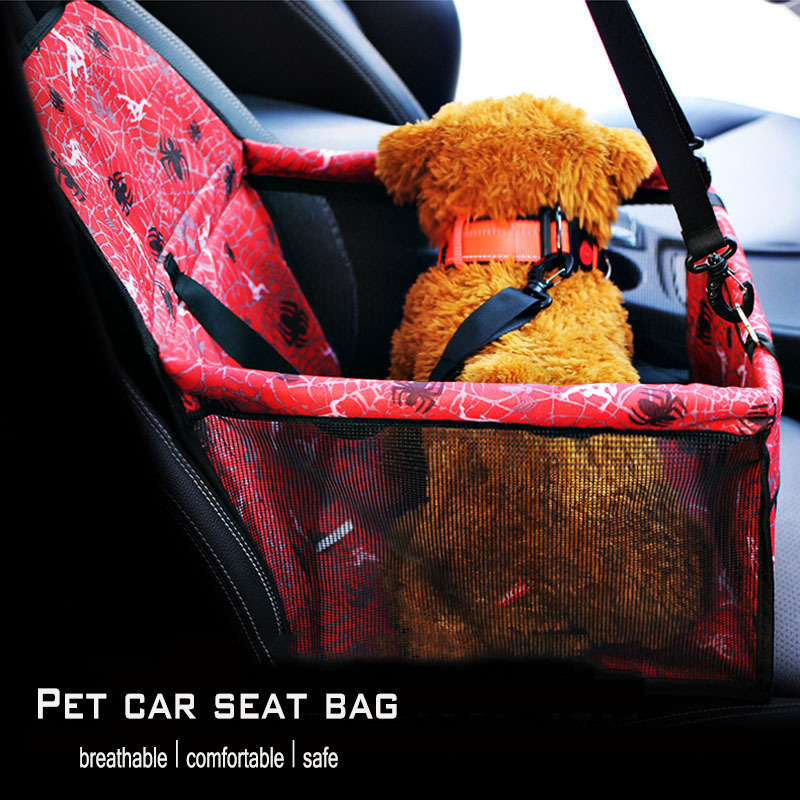 KIMHOME PET Dog Bags For Small Dogs Breathable Oxford Cloth Dog Car Seat Cover Travel Pet