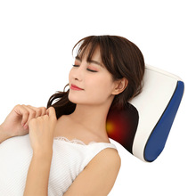 Multifunctional cervical massage device neck waist body electric massage pillow home shoulder massager cushion shiatu car/home цена в Москве и Питере