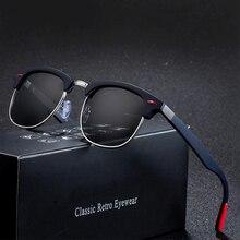 Sunglasses Men Round Polarized Brand DAVE Designer Mirror Women Sun Glasses Retr