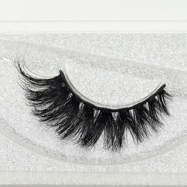 Visofree Eyelashes 3D Mink Lashes High Volume Handmade Mink False Eyelashes Thick Full Strip Lashes Cruelty Free cilios posticos 1