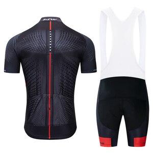 Image 4 - 2019 NW Brand New Pro Usura Della Bicicletta Abbigliamento Ciclismo MTB ciclismo imposta Bike uniforme Ciclo camicia di Estate in bicicletta jersey set degli uomini liberi di