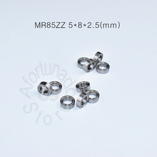 купить MR85ZZ 5*8*2.5(mm) 10pieces bearing Metal sealed free shipping ABEC-5 chrome steel miniature bearings hardware Transmission Part дешево