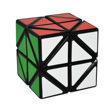 New Quick Finger 6cm Helicopter Cube Strange shape Puzzle Speed Classic font b Toy b font