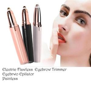 Electric Lipstick Eyebrow Trim