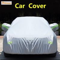 Car Cover Waterproof Auto Sedan Hatchback Anti UV Outdoor Rain Sun Snow Scratch Resistant Covers Sun