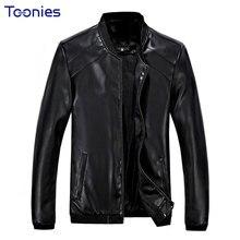 2017 Autumn Winter New Jaquetas Korean Leather Jacket Fashion Mens Leather Jackets Men of PU Locomotive Jaqueta Couro Masculina