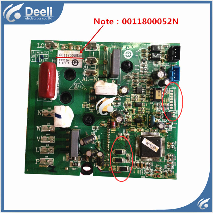 95% new good working for air conditioning parts power module board 0011800052N board цена