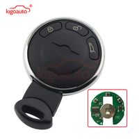 Brand new aftermarket Smart key 3 button 868 Mhz 66123456367 for Mini Cooper Countryman Paceman Clubman kigoauto