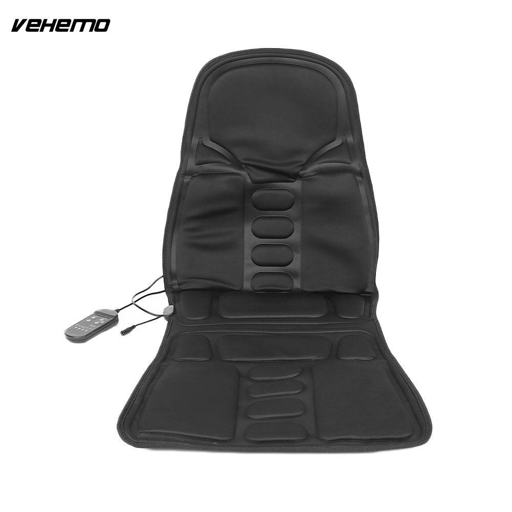 Vehemo coussin de siège chauffant voiture Massage Pad bureau cou taille détente multifonction universel pour FORD FOCUS 2 3 BMW E46 AUDI