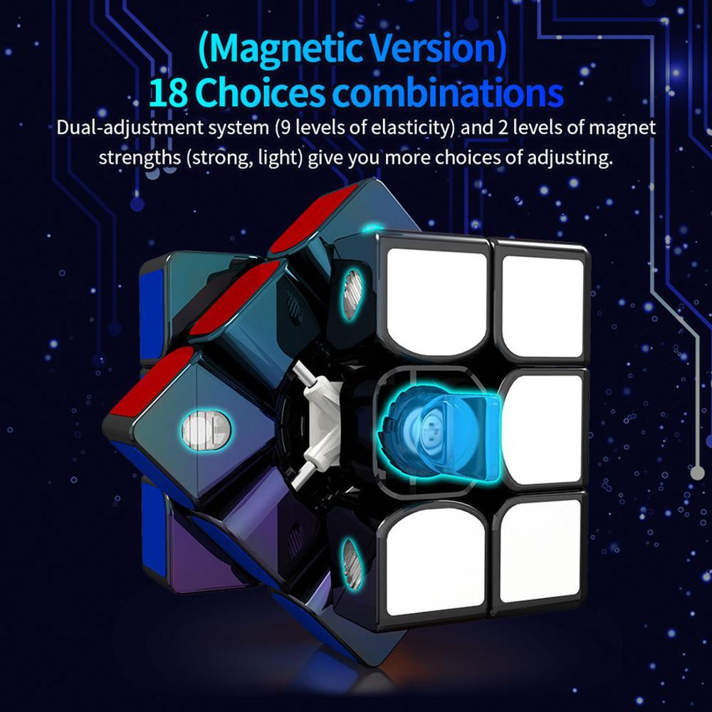 2019 nouveautés Guoguan Yuexiao EDM GG7007 3x3x3 M Cube magique professionnel 3x3 Cubes de vitesse Puzzles 3 par 3 Speedcube