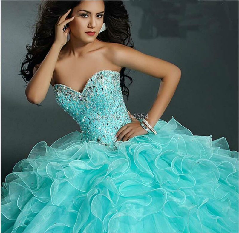 79638d5928a Custom Made Debutante Dress Satin Ivory Royal Blue Applique Crystal Ball Gown  Quinceanera Dress Vestidos De FiestaUSD 172.00 piece