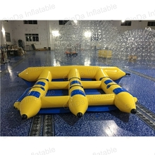Exciting water games inflatable flying banana boat of water sports equipment inflatable flying fish banana boat for adult