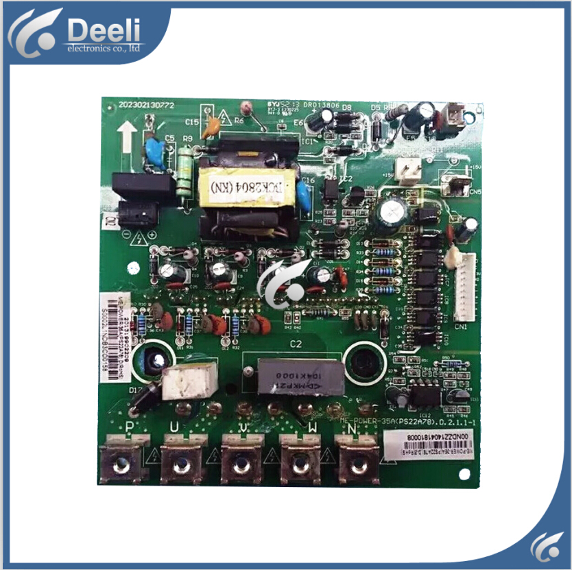 95% new good working for air conditioning Computer board Frequency module board ME-POWER-35A (PS22A78)D.2.1.1 PC board 100% new good working for refrigerator computer board power module rs21ssh rs552nru da92 00646b da92 00278b board