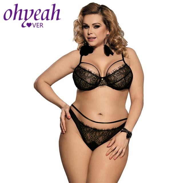 1143036d208 Ohyeahlover Wholesale Sexy Bra Set Ropa Interior Femenina Sexy Bras Set for  Women RM80293 Plus Size