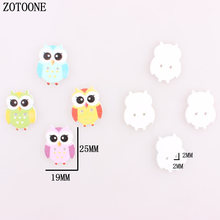 ZOTOONE 100Pcs Mixed Wooden Buttons Cute Bird Pattern Decoration Buttons 2 Holes Sewing Accessories Craft DIY Scrapbooking A car horn 12v 200w multi tone car horn special police siren 9 sound super loud loudspeaker megaphoone warning alarm fire buzzer