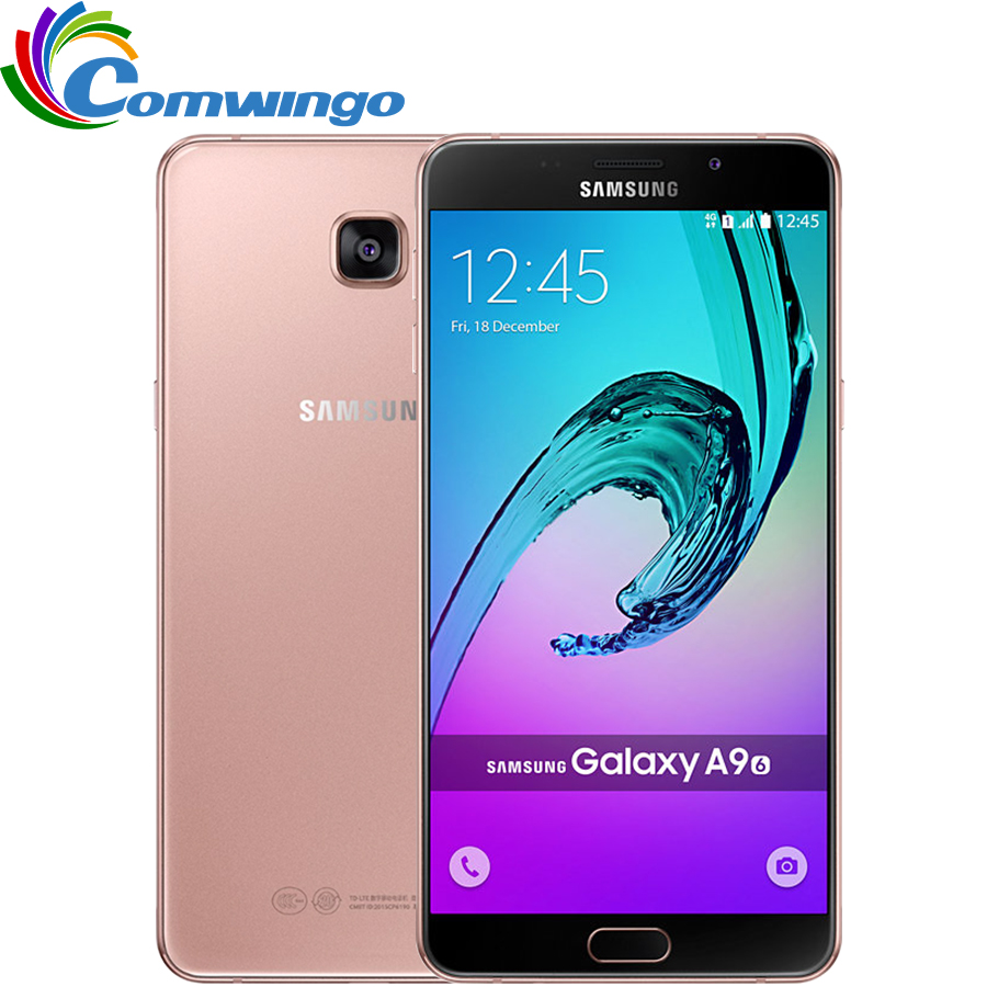 Unlocked Samsung Galaxy A9 A9000 Mobile Phone 6.0 inch Octa-Core 1.8GHz 3GB RAM 32GB LTE 13MP Android 4000mAh Dual SIM