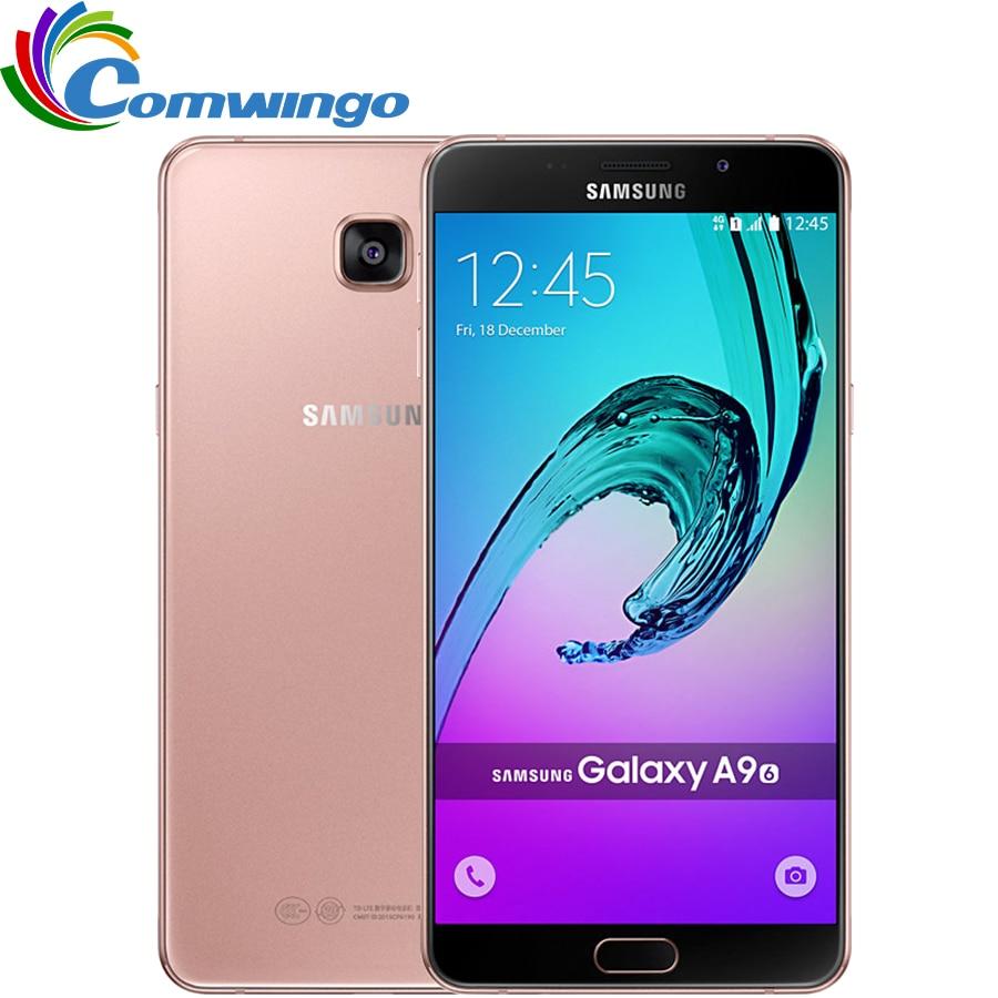 Unlocked Samsung Galaxy A9 A9000 Mobile Phone 6 0 inch Octa Core 1 8GHz 3GB