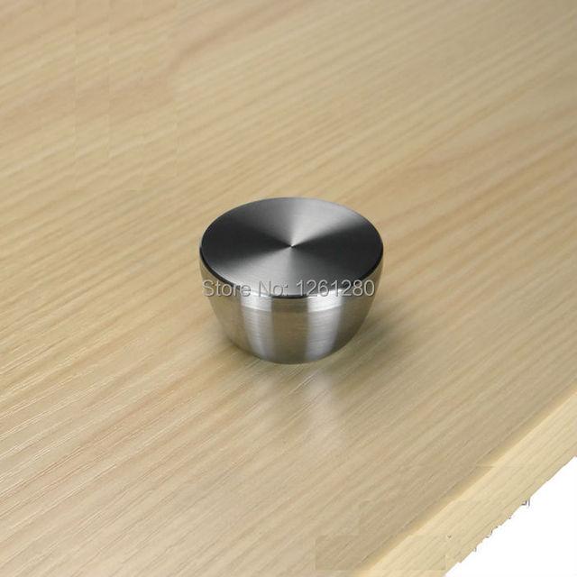 Móveis frete grátis handle knob casa fornecimento de hardware gaveta sólidos 304 punho de aço inoxidável armário guarda-roupa pega