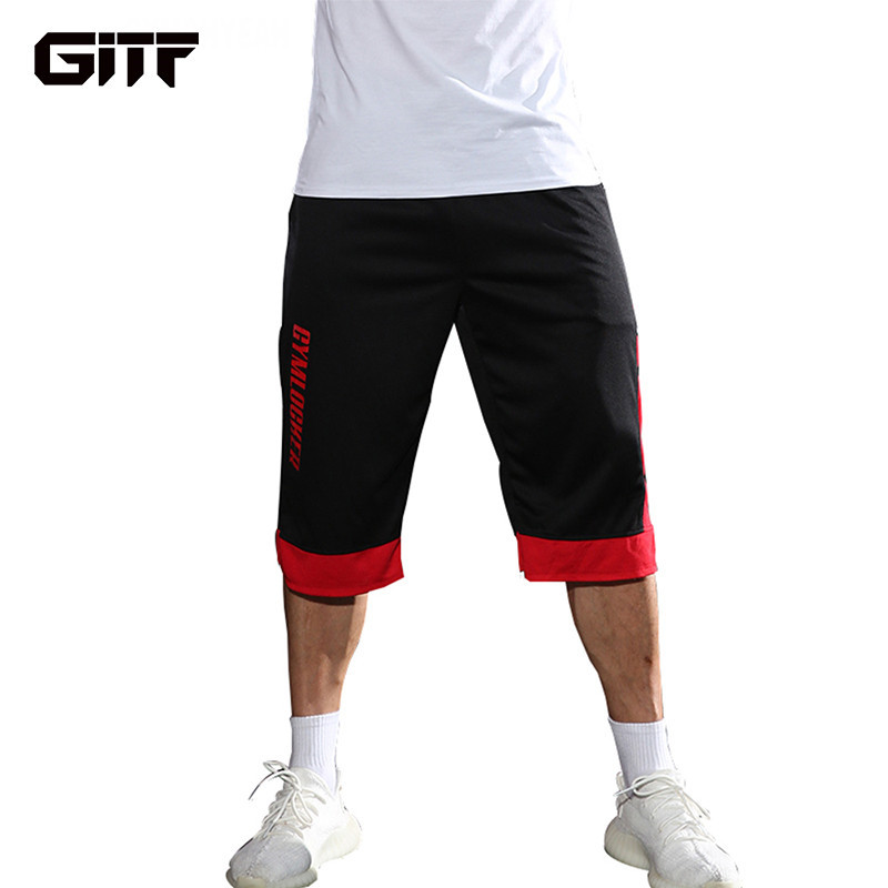 GITF Mens Shorts Gym Fitness Bodybuilding Joggers Workout Sporting Short Pants Sweatpants Sportswear Sports Tights Running Short in Running Shorts from Sports Entertainment