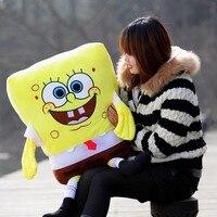 Lovely Plush Spongebob Toy The Cartoon Spongebob Soft Huge Stuffed Toy About 120cm