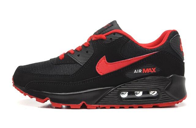 Nueva llegada Original NIKE AIR MAX 90 hombres transpirable zapatillas de deporte zapatillas Zapatillas de deportes al aire libre Atlético tamaño 40- 45