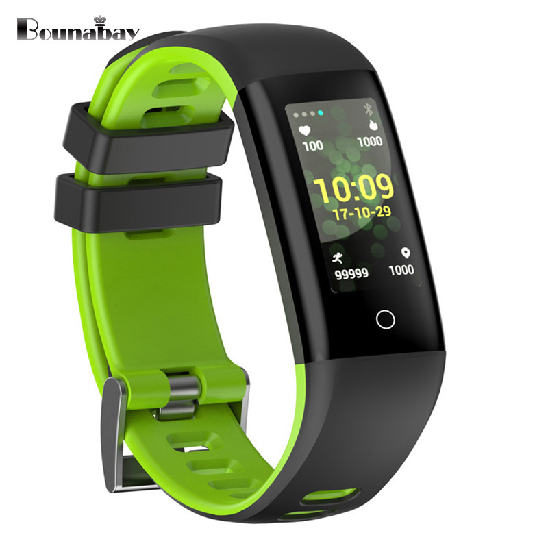 BOUNABAY Heart Rate Pedometer Bluetooth Smart woman watch for apple android phone waterproof Camera Clock Touch Screen 3g Clocks 1 6 screen stainless steel bluetooth 3 0 sim camera hd dv recording pedometer 4g memory smart watch phone security msn p20