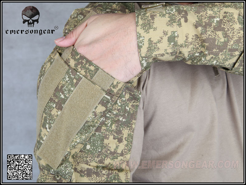 Emerson Tactical G3 airsoft combat gear training shirt Military US Army Camouflage Badlands Color BL Hunting