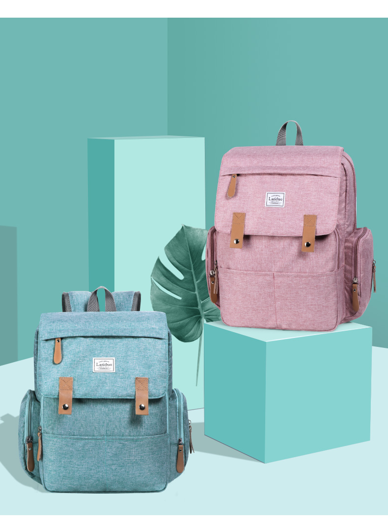 HTB1NgZTRwHqK1RjSZFgq6y7JXXaP 2019 LAND Mommy Diaper Bags BACKPACK Landuo Mummy Large Capacity Travel Nappy Backpacks Convenient Baby Nursing Bags 11 types
