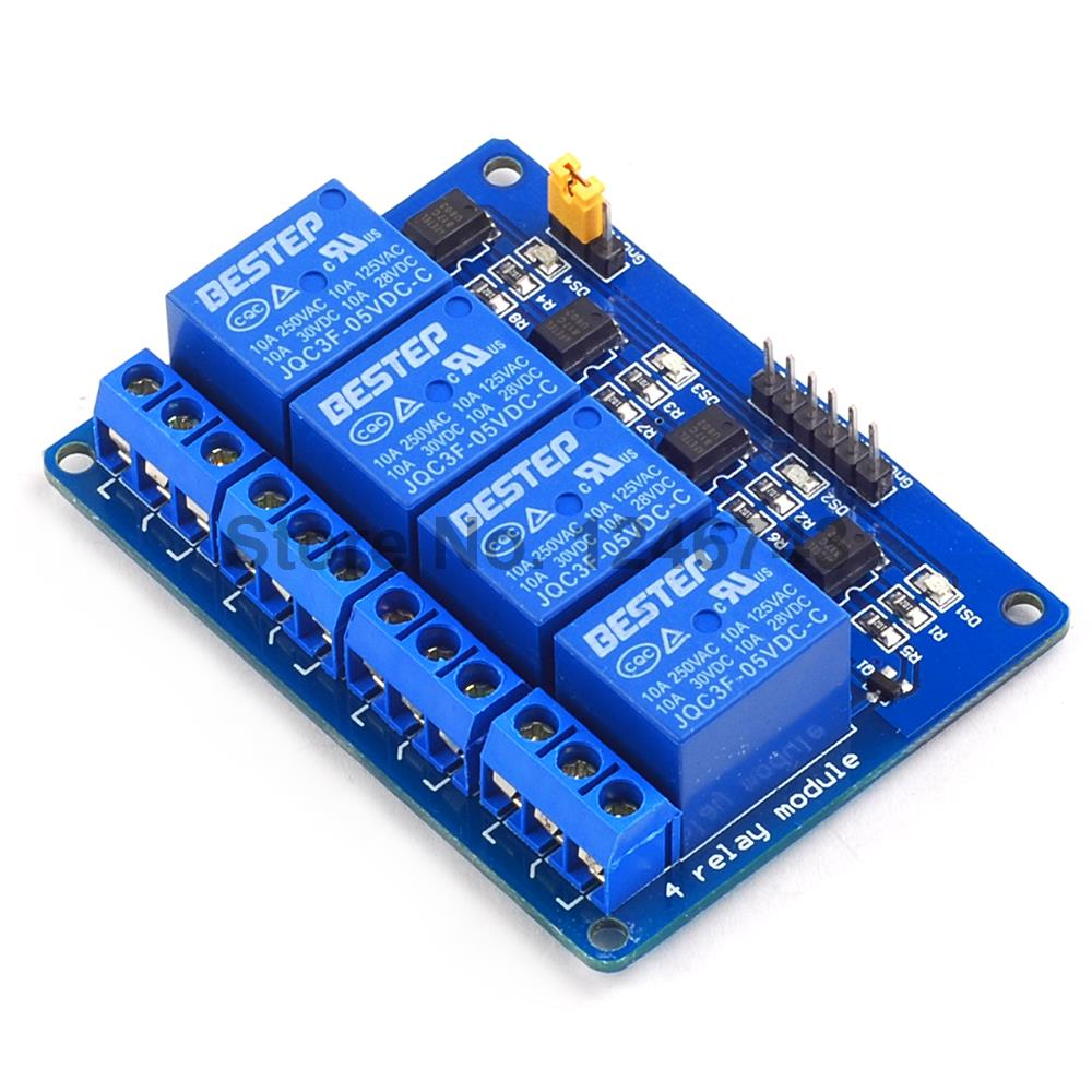 Detail Feedback Questions About 4 Channel Relay Module With Through An Optocoupler Circuit Homemade Projects Output Way 4ch For Arduino Diy Remote Control Rc Toy On
