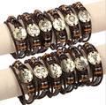 1pcs 12 Constellations Bracelets Jewelry For Women Men Leather Charm Bracelet Casual Personality Vintage Punk Bracelets & Bangle