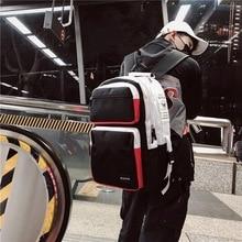 Litthing New Unisex Bags For Teenager Travel Women Backpack Men Student School Handle Bags High Quality 2019 Schoolbag new natsume yuujinchou nyanko sensei luminous cosplay backpack anime cat canvas student schoolbag unisex travel bags