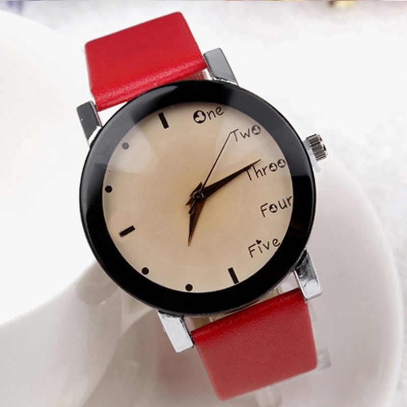 Neutrale Leisure Letters Horloges Motion Simulatie Van Elektronische Quartz Horloge Reloj Kol Saati Goed Uitziende Juli 21