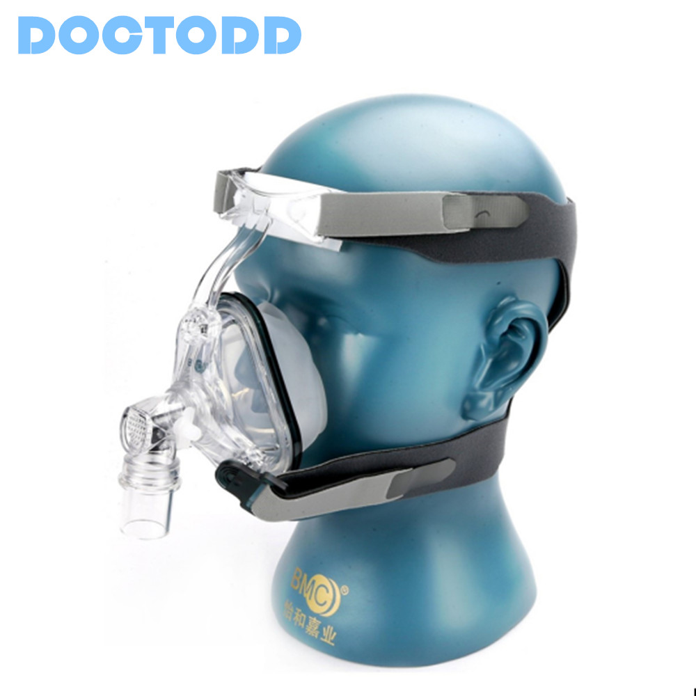 Doctodd NM1 Nasal Mask Super Deal Nasal Mask Color White With Adjustable Headgear Comfortable For CPAP Machine Free Shipping new cpap headgear replacement fit for respironics comfort gel nasal mask head band